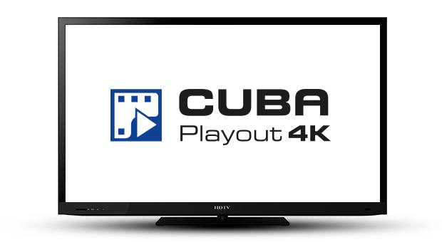 4K Playout for SDI & IPTV - CUBA Broadcast