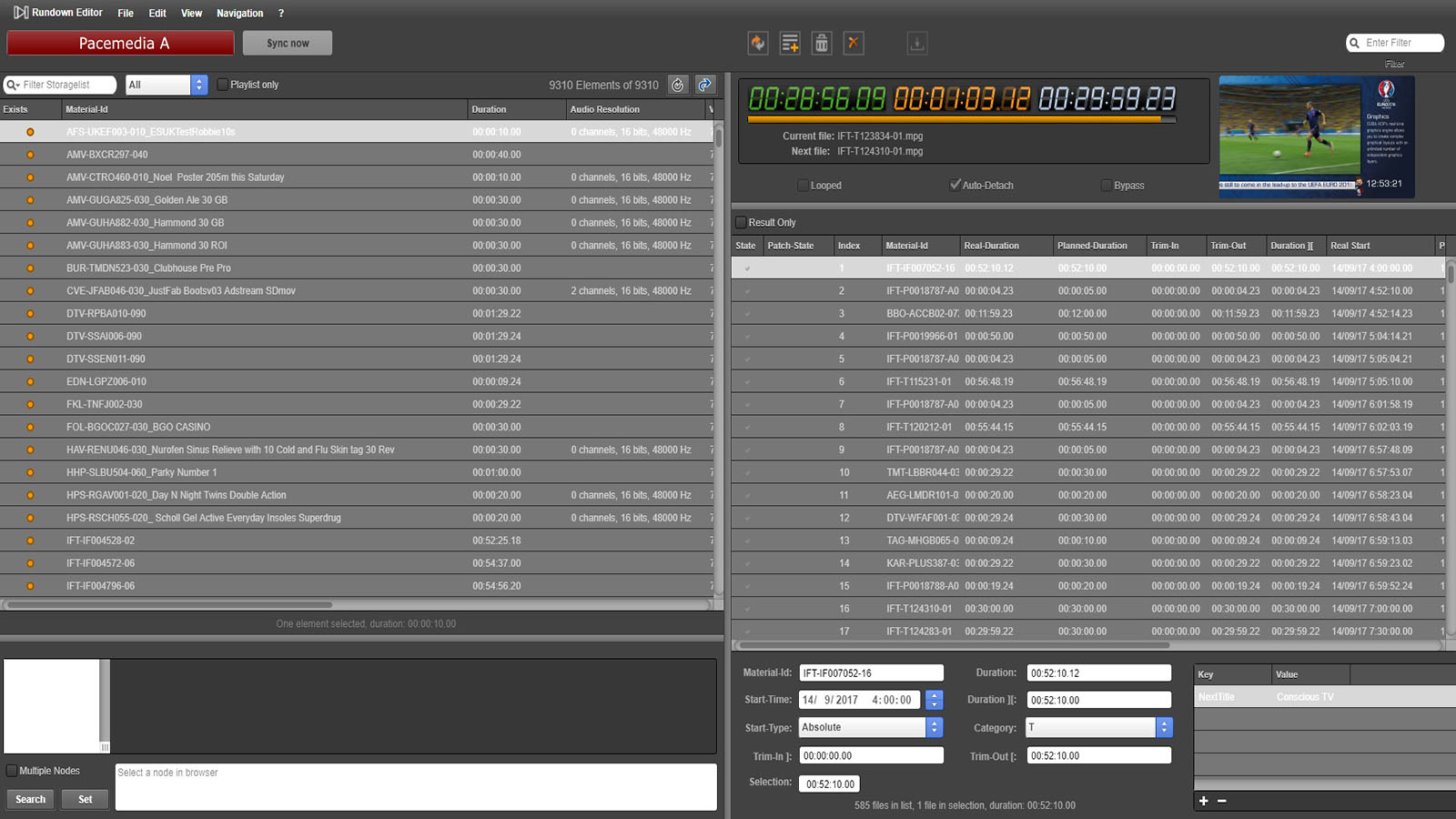 4K Playout for SDI & IPTV - CUBA Broadcast